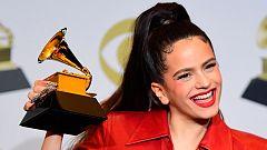 Rosalía, primera artista española en ganar un Grammy en una gala dominada por Billie Eilish