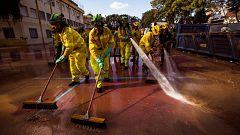 Alrededor de 900 afectados por el temporal en Málaga solicitan ayuda