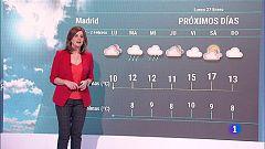 El Tiempo en la Comunidad de Madrid - 27/01/20