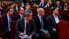 Los exconsellers condenados por el 'procés' salen de prisión para comparecer ante la comisión del Parlament sobre el 155