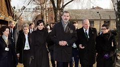 Corazón - Los Reyes Felipe y Letizia visitan Auschwitz en el 75 aniversario de su liberación