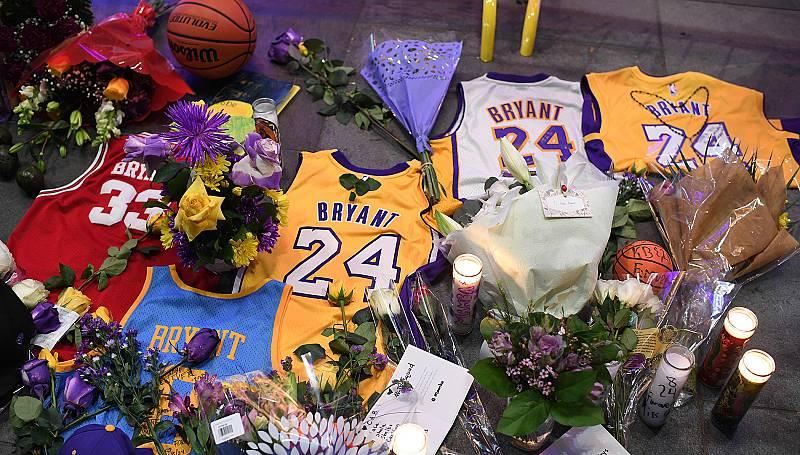 Los homenajes a Kobe Bryant se suceden en Estados Unidos