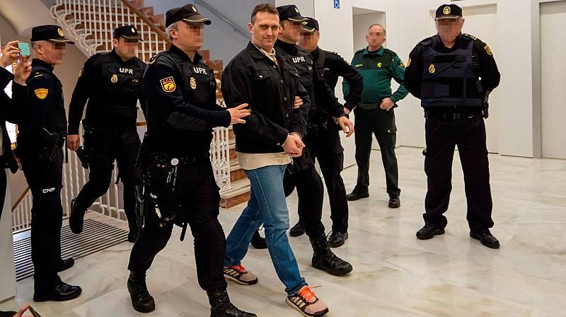 Seguridad especial en el jucio contra 'Igor el ruso'