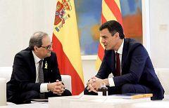 Pedro Sánchez se reunirá con Torra el 6 de febrero en Barcelona