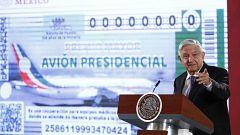 El presidente de México rifará el avión presidencial encargado por Peña Nieto