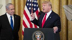 Trump presenta su plan de paz para Oriente Próximo