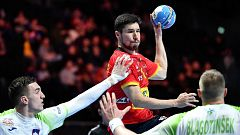 Balonmano - Campeonato de Europa Masculino. 2ª Semifinal: España - Eslovenia