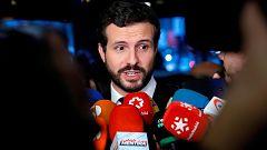 """Casado pide el cese de Torra y anuncia una querella contra él por """"usurpación de funciones"""""""