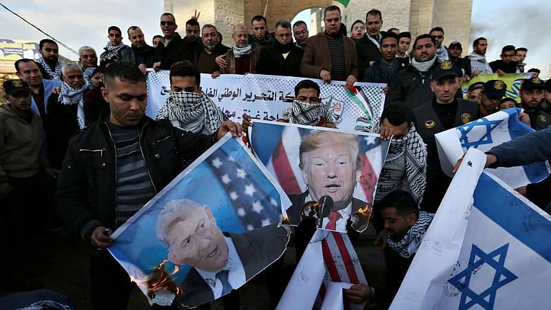 El plan de paz de Trump para Oriente Próximo, herido de muerte desde su nacimiento