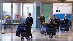 Los futbolistas chinos de Wuhan llegan a España sin síntomas de coronavirus
