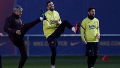 El Barça, obligado a reaccionar este jueves en la Copa del Rey