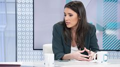 Los desayunos de TVE - Irene Montero, ministra de Igualdad