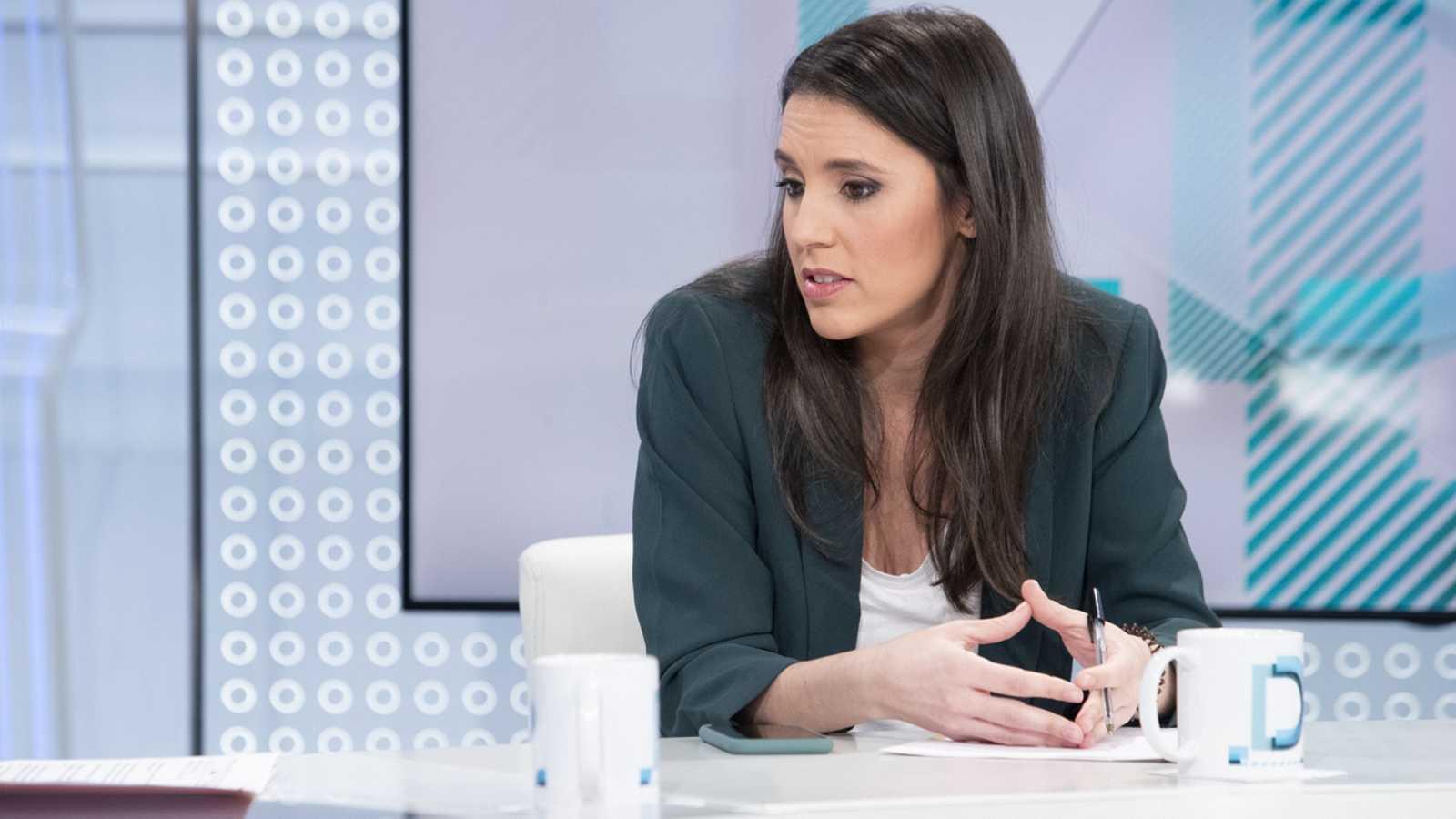Los desayunos de TVE - Irene Montero, ministra de Igualdad - ver ahora