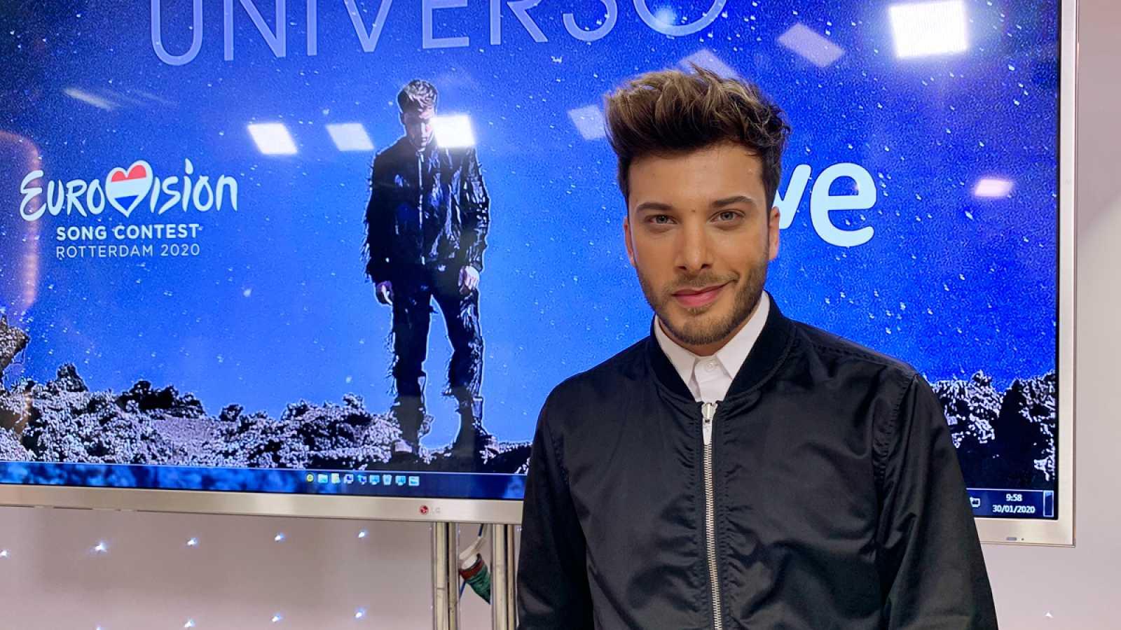 """Blas Cantó estrena el videoclip de """"Universo"""""""