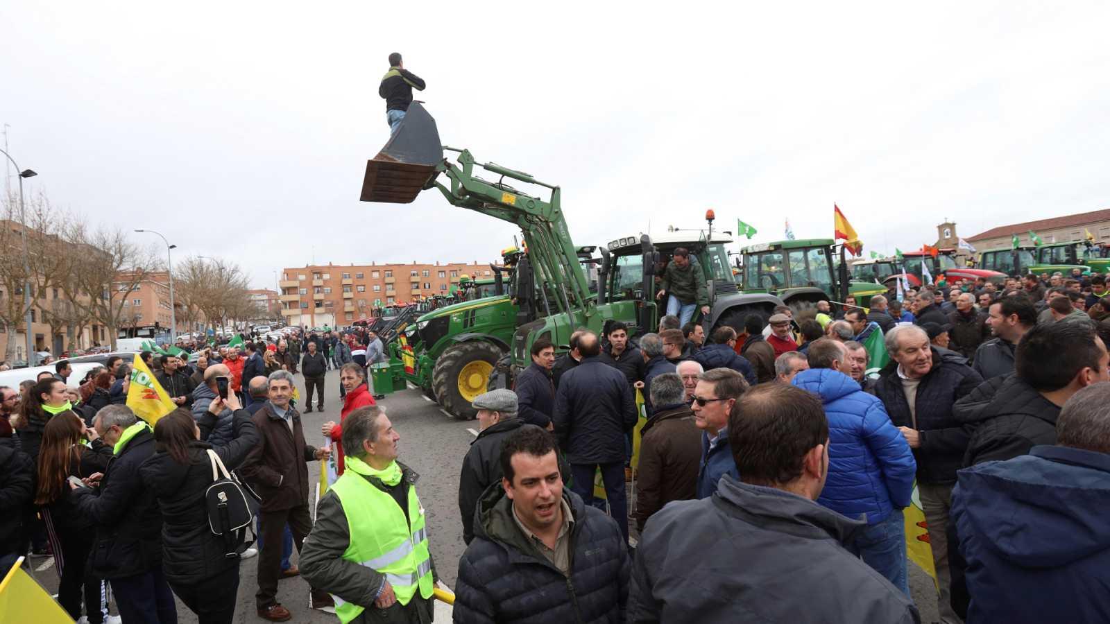 La Mañana - Así ha acontecido la manifestación de los olivareros de Jaén: en pie de guerra contra los desorbitados precios