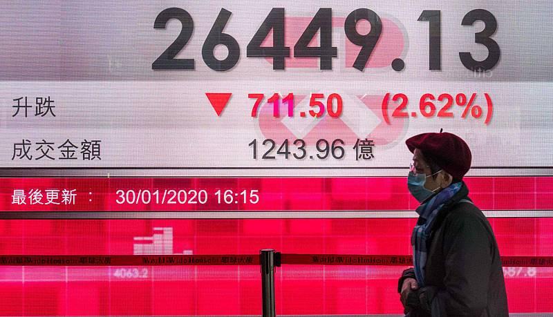 El coronavirus contagia a la economía China, que podría perder hasta 1,5 puntos según los expertos