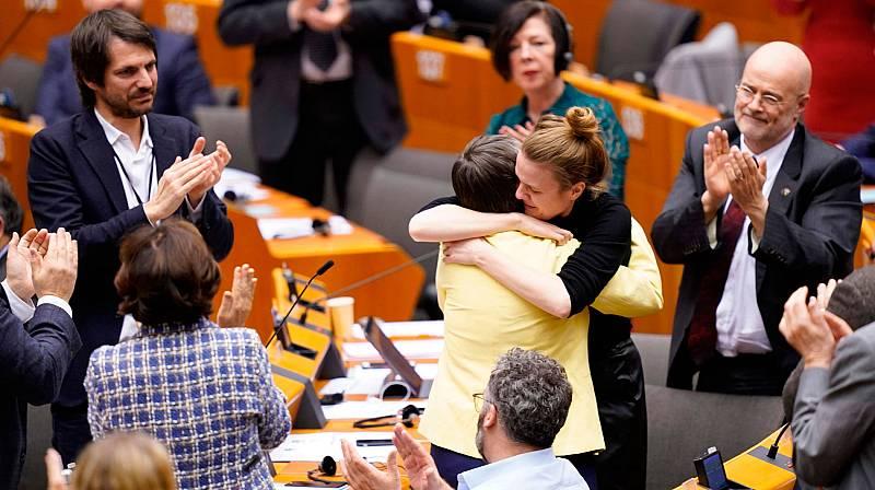 Despedida de los eurodiputados británicos