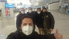 """Parten de Wuhan los españoles repatriados por el coronavirus: """"Por fin nos vamos, parecía mentira"""""""