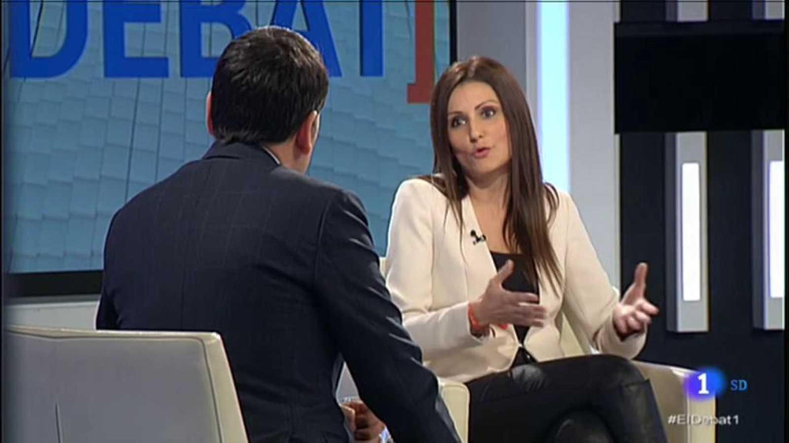 El Debat de La 1 - Lorena Roldán, de C's, censura la mesa de diàleg pactada entre Pedro Sánchez i ERC