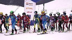 Esquí de montaña - Copa del Mundo Arinsal, desde Arinsal (Andorra)