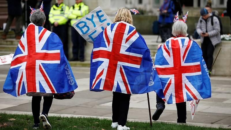 'Brexit': La alegría de los vencedores