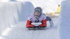 Skeleton femenino - Copa del mundo 2ª manga, desde Saint Moritz (Suiza)