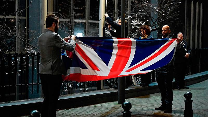 Bruselas dice adiós al Reino Unido