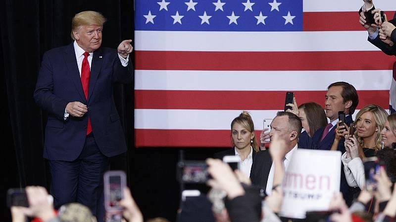 El Senado, a un paso de absolver a Trump en el 'impeachment'