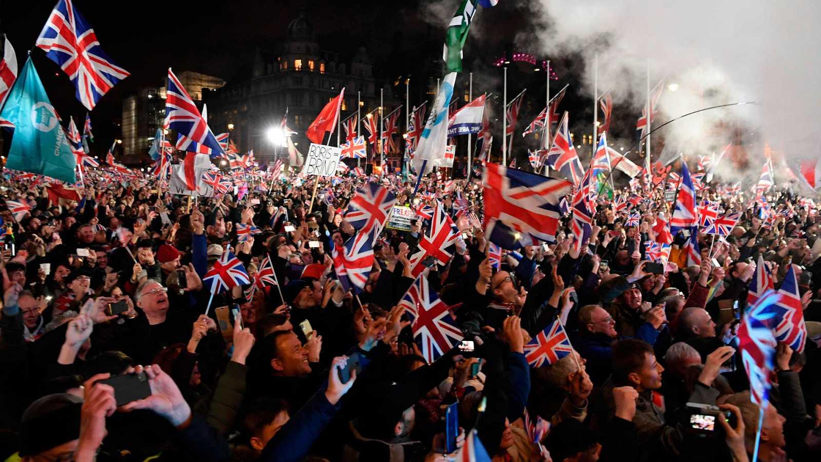 Así ha sido el momento en el que el Reino Unido ha abandonado la Unión Europea