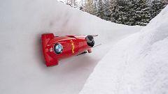 Bobsleigh A-2 femenino - Copa del Mundo 1ª manga, desde Saint Moritz (Suiza)