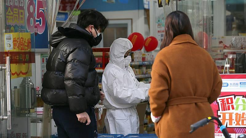 Un equipo de TVE visita un mercado de la provincia china de Hunan, limítrofe con la de Hubei - Ver ahora