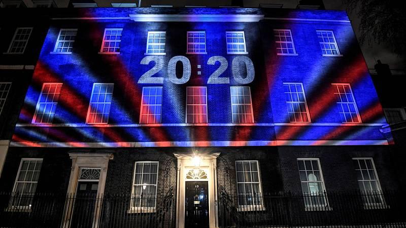 """El Reino Unido da su adiós a la UE con un Johnson que apela al """"inicio de una nueva era"""""""
