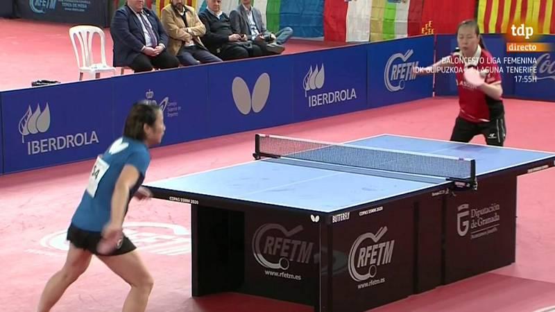 Tenis de mesa - Copa SS.MM. los Reyes 2020. Final femenina. Desde Granada - ver ahora