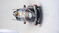 Bobsleigh A-2 masculino - Copa del Mundo 2ª manga, desde Saint Moritz (Suiza)
