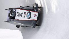 Bobsleigh A-4 masculino - Copa del Mundo 1ª manga, desde Saint Moritz (Suiza)