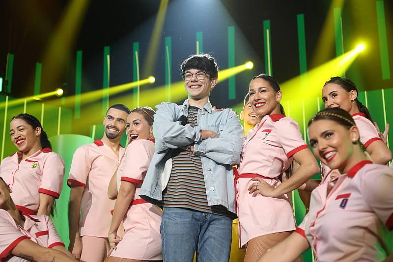 """Flavio canta """"Shotgun"""", de George Ezra, en la Gala 3 de Operación Triunfo 2020"""