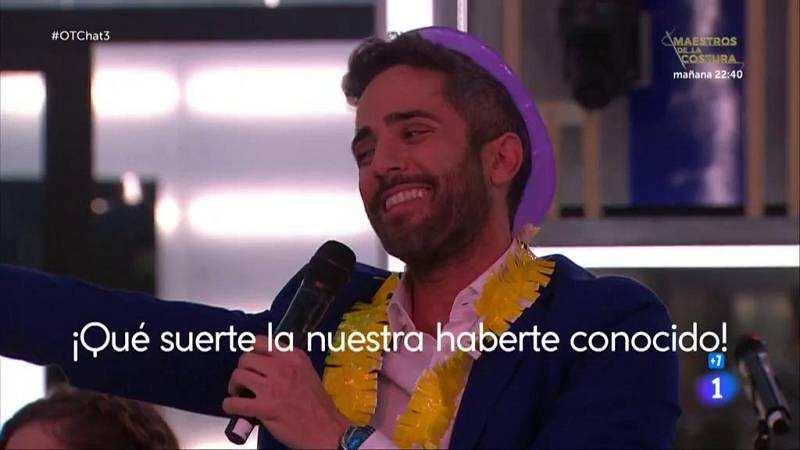 """Roberto Leal canta """"Corazón partío"""" de Alejandro Sanz en El Chat 3"""