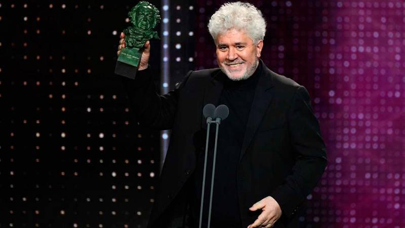 'Dolor y gloria' triunfa en los Premios Goya de 2020