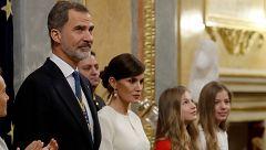 """El rey Felipe VI: """"España no puede ser de unos contra otros, sino de todos y para todos"""""""