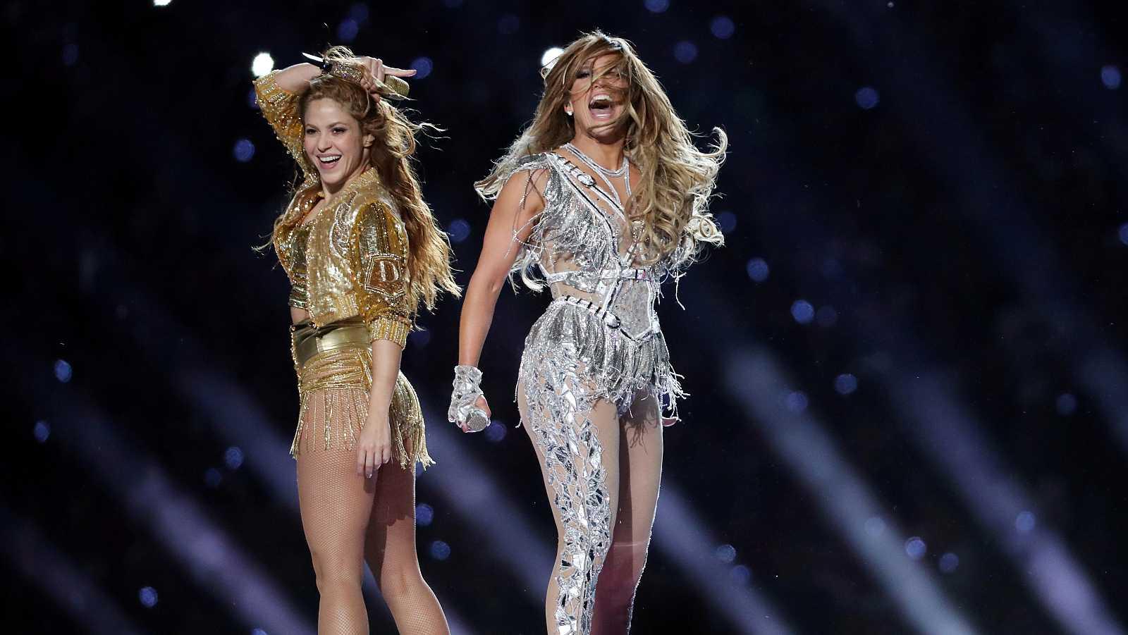 Shakira y Jennifer López: su espectáculo en la Super Bowl