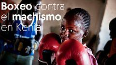 El boxeo ayuda a niñas y mujeres en Kenia contra la exclusión social