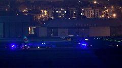 El avión de Air Canada logra aterrizar sin problemas en el aeropuerto de Madrid-Barajas
