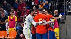 España gana a Serbia: al Mundial de fútbol sala por goleada