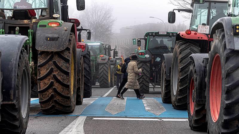 Los agricultores, en una situación límite por la baja rentabilidad que reciben de sus productos