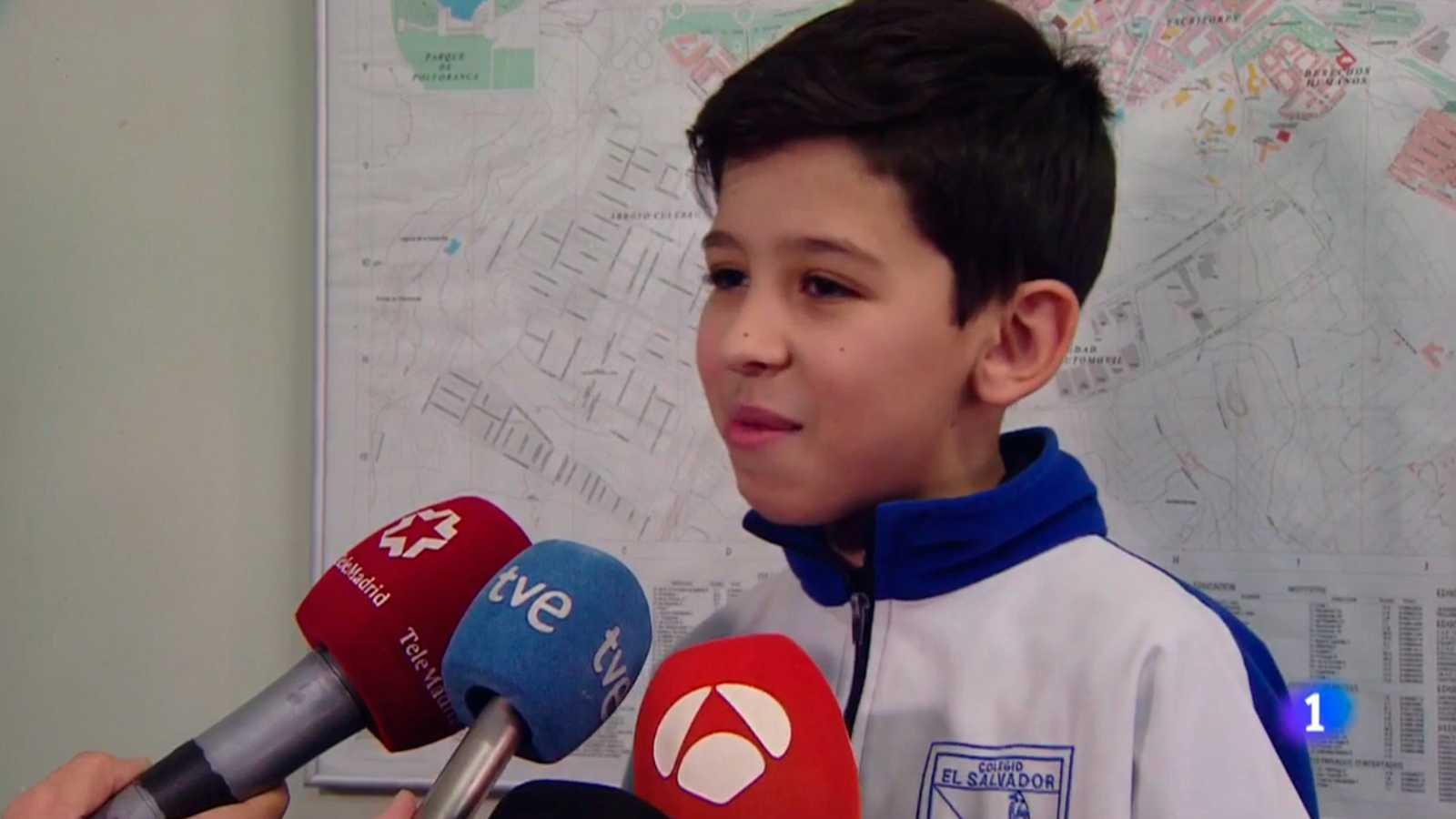 """El niño que llamó al 112 para socorrer a su madre: """"Te sientes satisfecho de ayudar"""""""