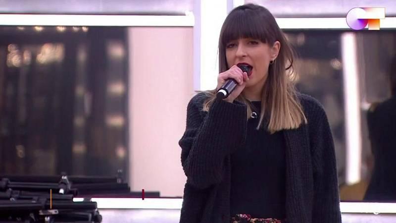 """Maialen canta """"Dinamita"""", de La Bien Querida, en el primer pase de micros de la Gala 4 de Operación Triunfo 2020"""
