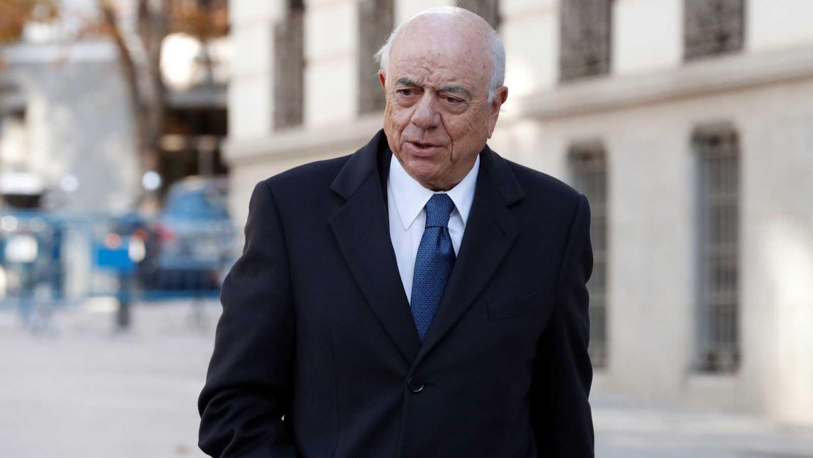 Francisco González consintió la contratación de detectives en el BBVA pero niega conocer su vinculación con Villarejo