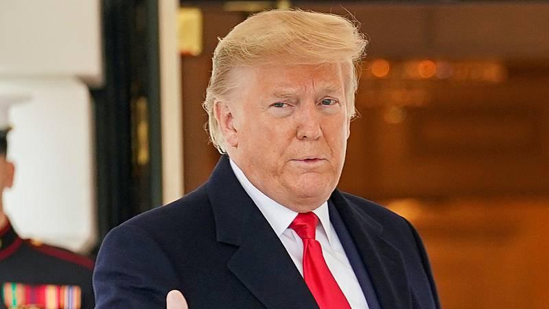 La mayoría republicana absuelve a Trump de los cargos de abuso de poder y obstrucción al Congreso