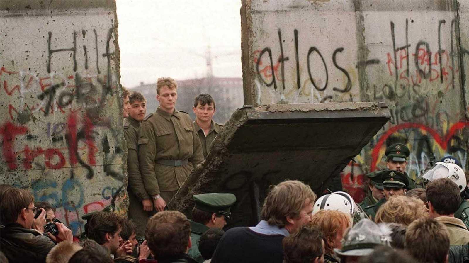 Europa ha seguido construyendo muros tras el de Berlín