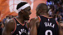 Toronto Raptors encadena su duodécima victoria gracias a un triple de Ibaka